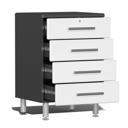 Base Cabinet with Open Drawers