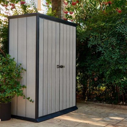 Keter High Store shed in garden