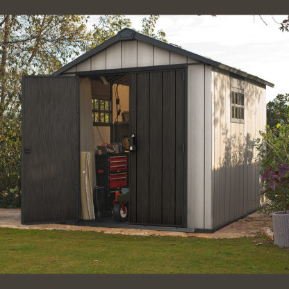 Oakland 7511 shed in garden setting