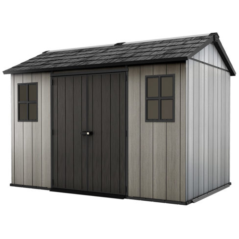 Keter Oakland 1175 Garden Shed product shot on white