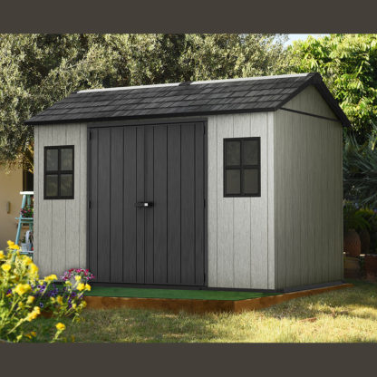Keter Oakland 1175 shed in garden setting